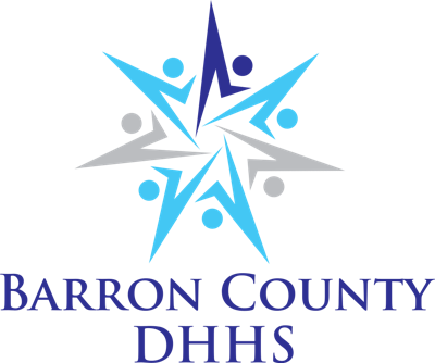 Barron County DHHS logo, health and human services