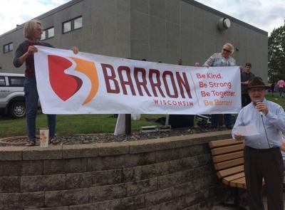 Barron unveils new logo, slogan at its fall fest