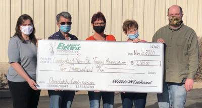 CASTA gets $2K donation from Barron Electric