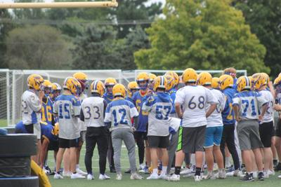 Rice Lake football first practices