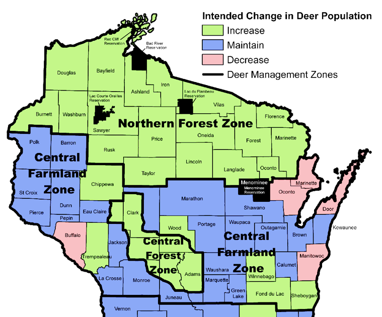 Wisconsin Department Natural Resources Hunting