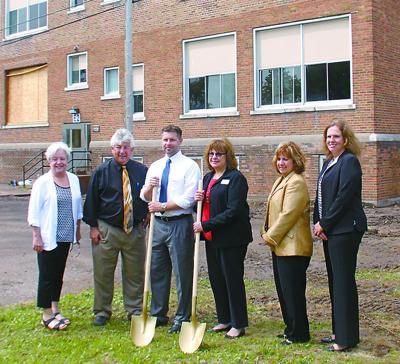 Franklin School groundbreaking