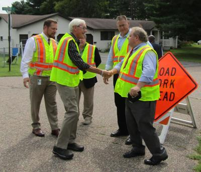 Governor highlights local road funding in budget