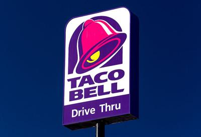 Taco bell sign logo