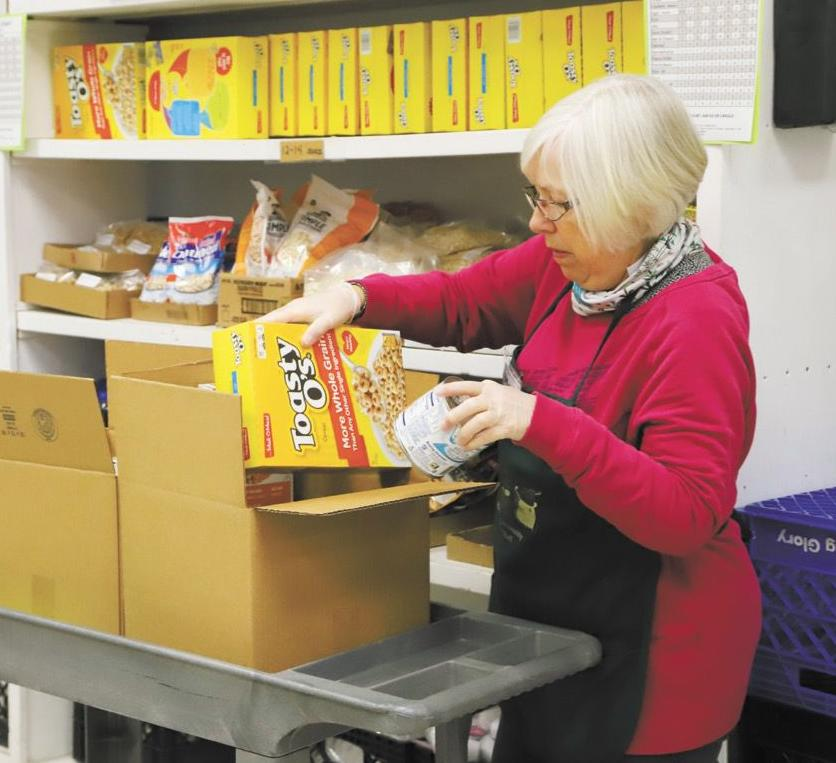 Food shelf continues to serve community