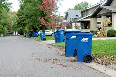 Garbage Recycling containers