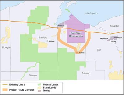 Enbridge  Line 5 reroute