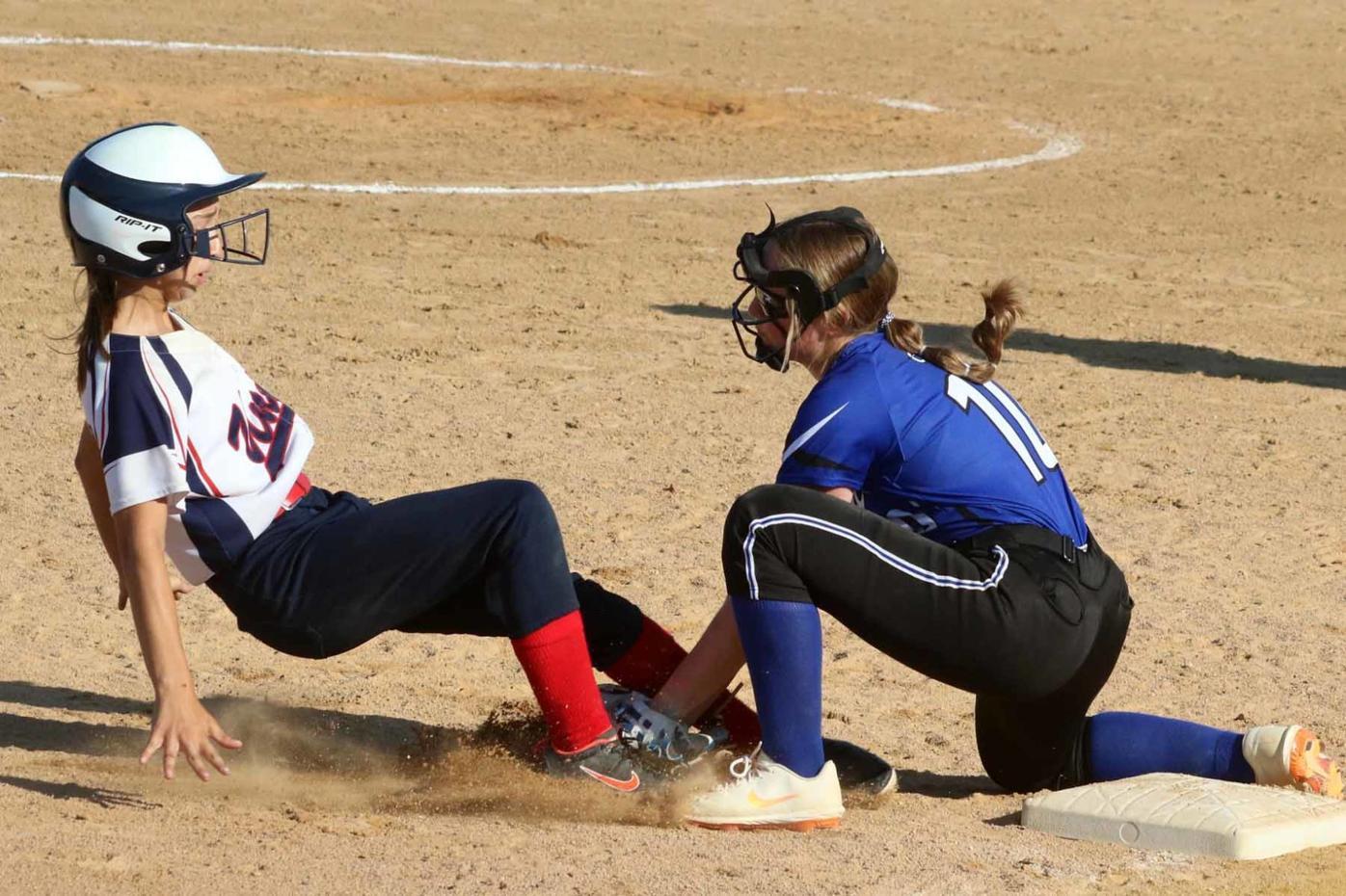 Cameron softball vs. Unity 6-9-21