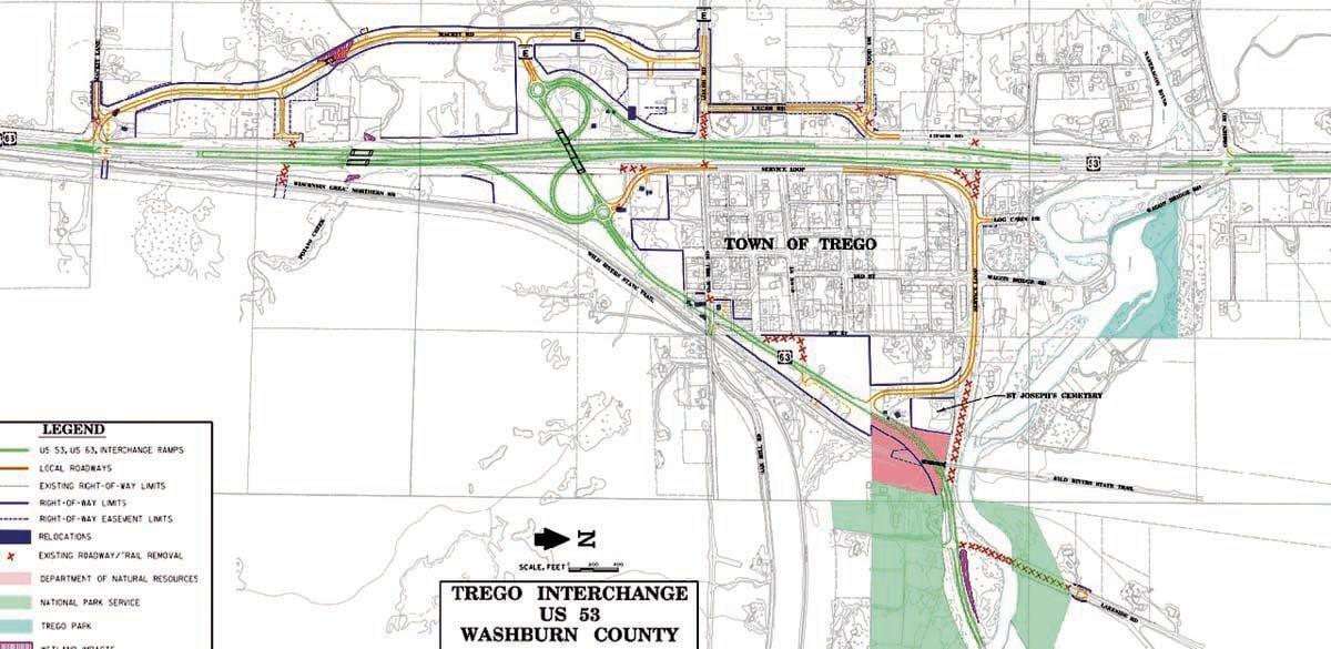 Highways 53/63 intersection under major construction