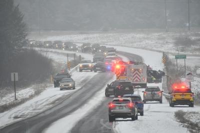 Four injured in head-on crash