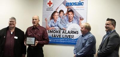 Mosaic receives Sound the Alarm award