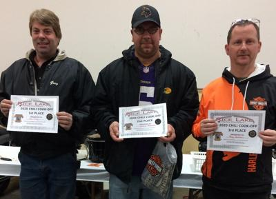 Winners announced in chili cook-off
