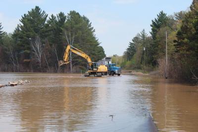 Bayfield County highway work