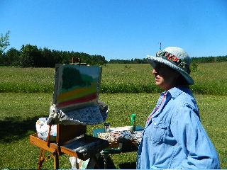 Open-air painting workshop offered