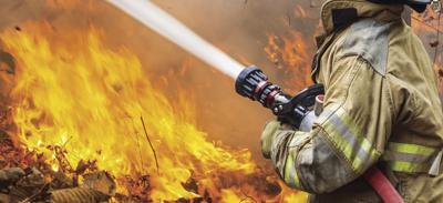 Metro-Firefighter art