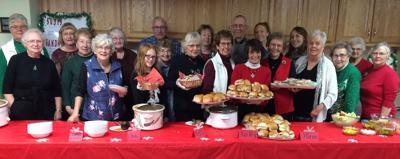 First Lutheran's cookie walk and luncheon
