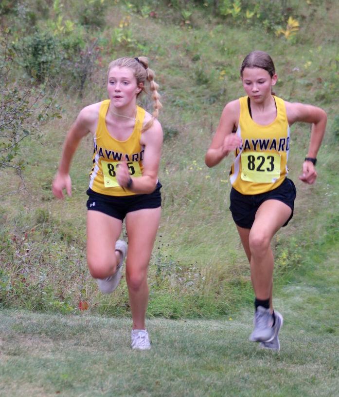 HHS girls run at Spooner