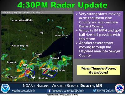 Powerful storm rips through Polk County | Free | apg-wi com