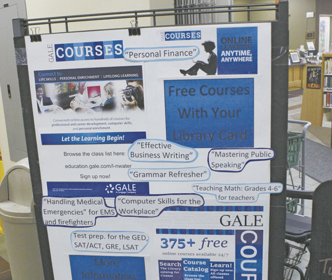 Libraries offer online learning with Gale Courses | Paywall