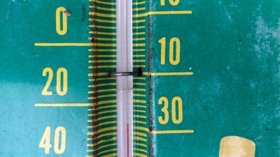 Temperatures, cold, thermometer