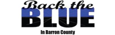 Back the Blue in Barron County rally