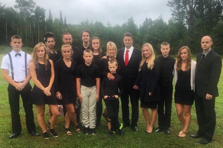 Nathan Hecker and family