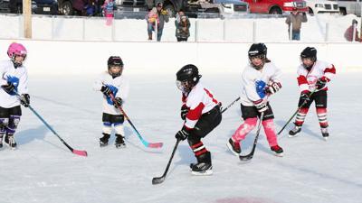 Hockey at Jack Frost Festival