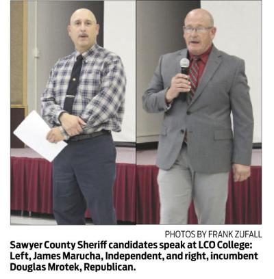 Sheriff candidates take questions at LCO forum | Paywall