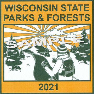 Winning state park sticker