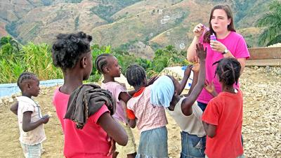 Caroline Hyland in Nicaragua