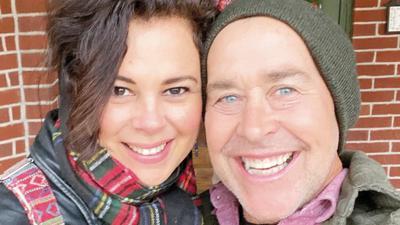 Hannah and Chuck Keels