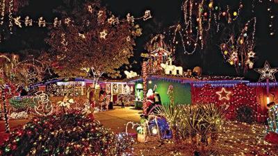 Sepanek Christmas light dislplay