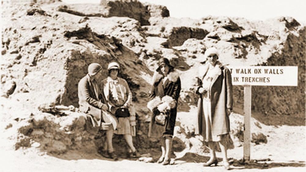 Pueblo Grande circa 1930.