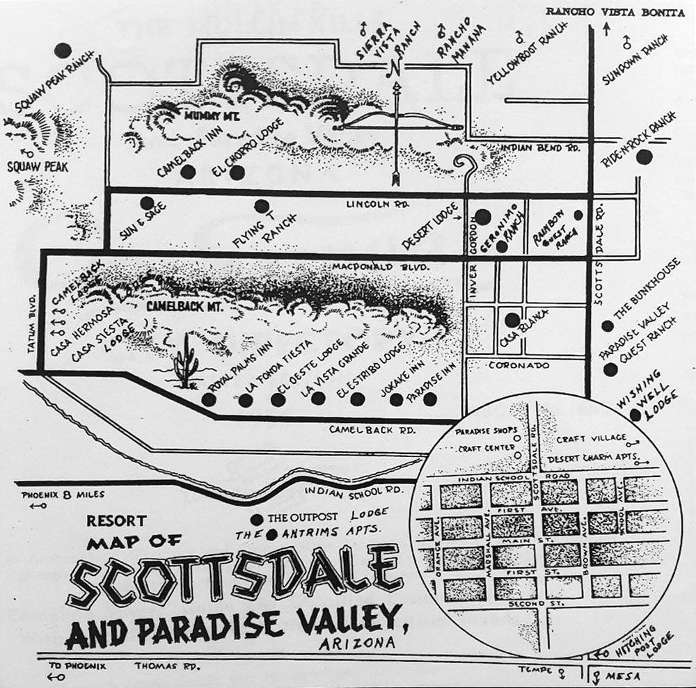 Scottsdale Resort Map
