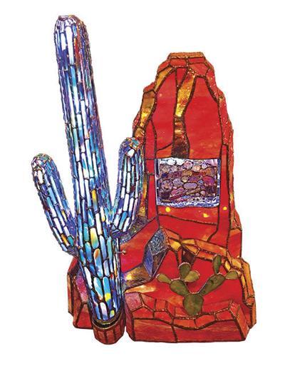 Arizona's saguaros and Sedona's red rocks