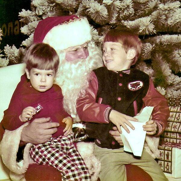Greg and  Curt Bruns,  1975