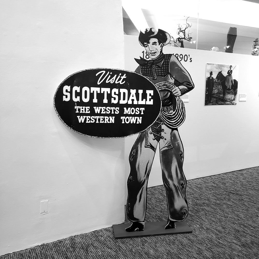 Early Scottsdale sign