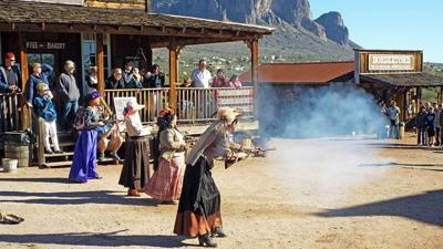 Wild West shoot out