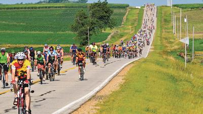 Over 15,000 riders participated this year.