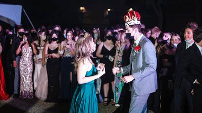 AHS 2021 prom queen and king