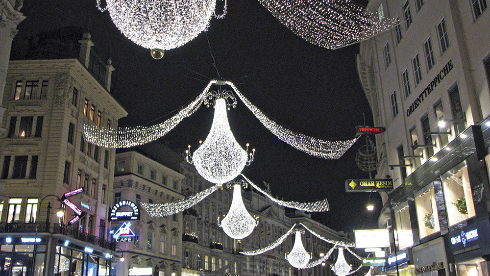 Chandeliers in Vienna