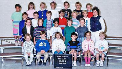 Kari's former second-grade class