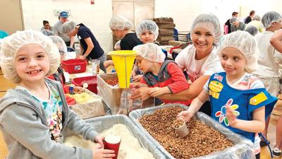 The 6th annual Arcadia Cares:Food for Kidz Packathon