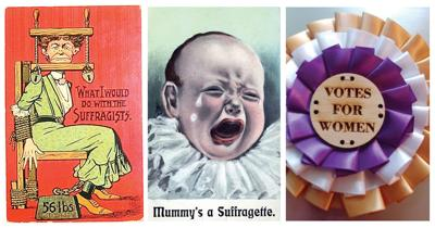 Early 1900s suffragette posters