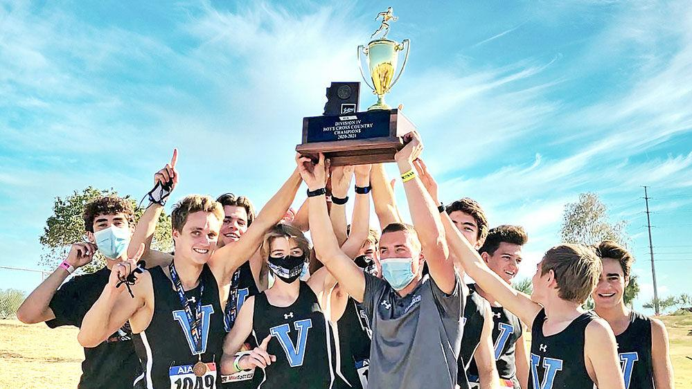 Veritas cross-country  wins its first state title