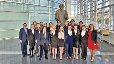 Veritas Mock Trial team