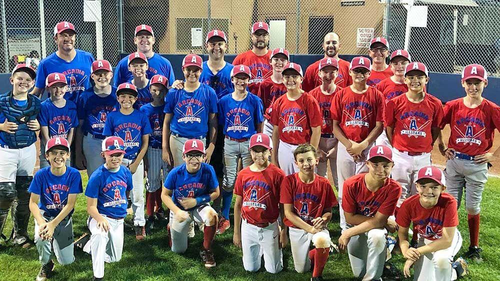 2019 Arcadia Little League baseball All Stars