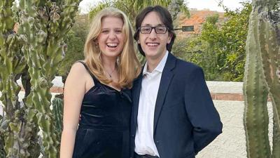 Sara Matin and Anthony Procopio.
