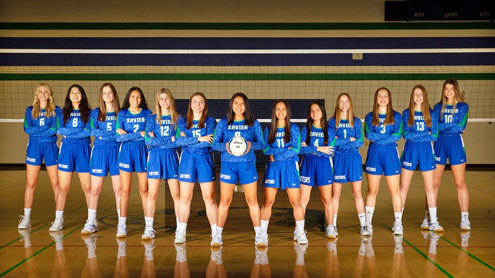 Xavier Prep Varsity Girls Volleyball