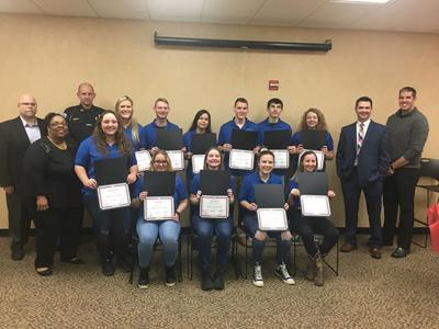 Criminal Justice Academy takes place
